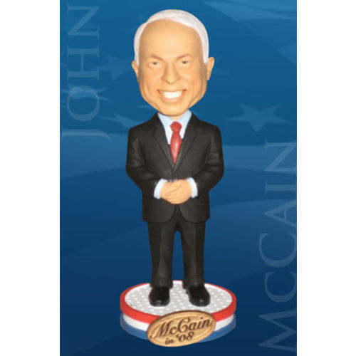 Photo 1 of John McCain Bobblehead