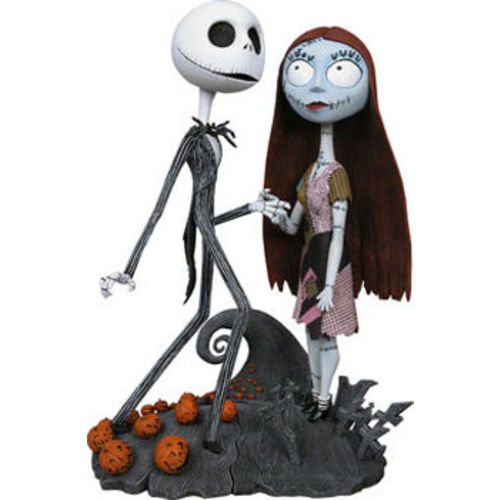Photo 1 of Nightmare Before Christmas Jack and Sally Spiral Hill Head Knockers