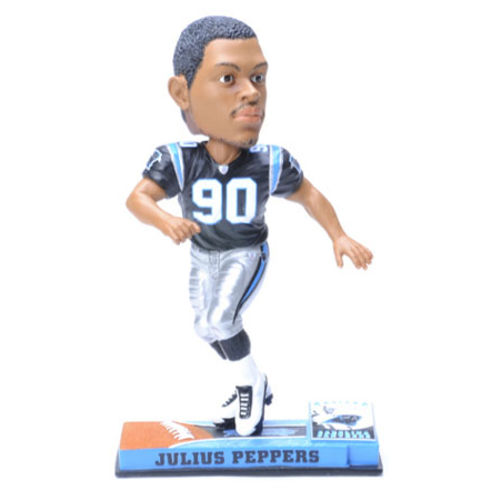 Photo 1 of Julius Peppers Carolina Panthers Bobblehead