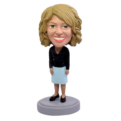 Photo of Female Business Casual Bobblehead