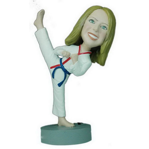 Photo 1 of Female Karate Bobblehead