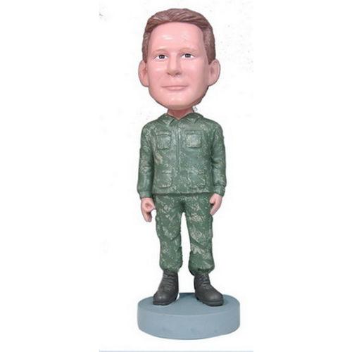 Photo 1 of Military Man Bobblehead