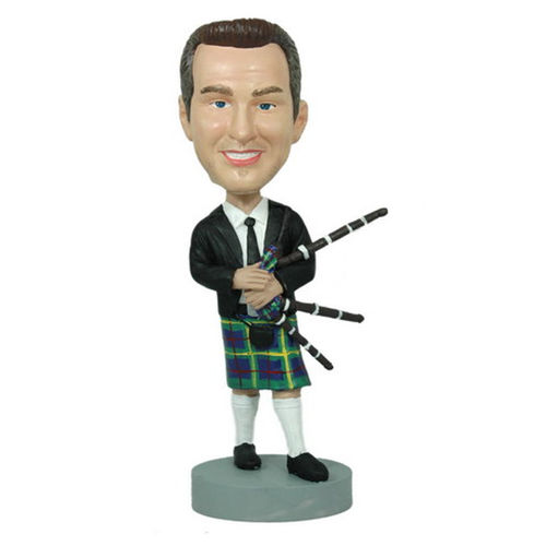 Photo 1 of Bag Pipe Player Bobblehead