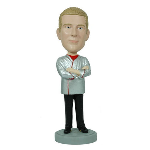 Photo 1 of Chef With Arms Crossed Bobblehead