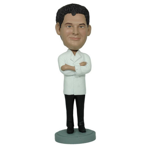 Photo 1 of Executive Chef With Arms Crossed Bobblehead