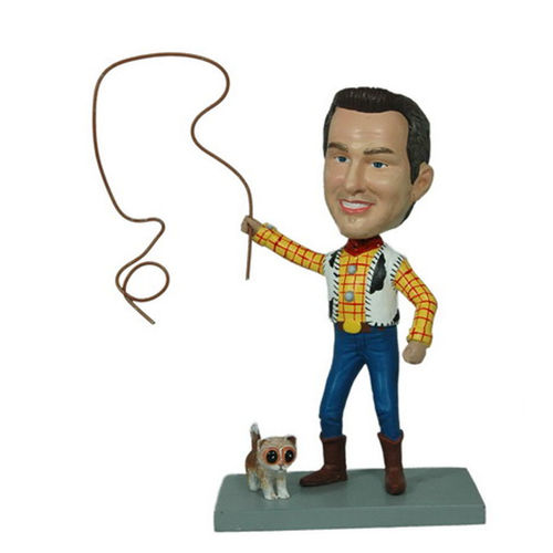 Photo 1 of Rodeo Male Bobblehead