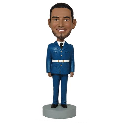 Photo of Man In Uniform Bobblehead