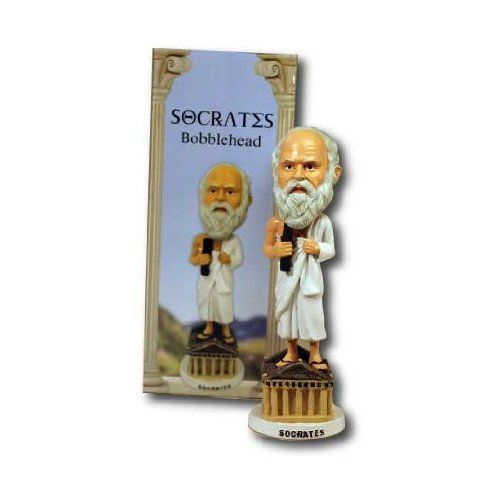 Photo 1 of Socrates Bobblehead