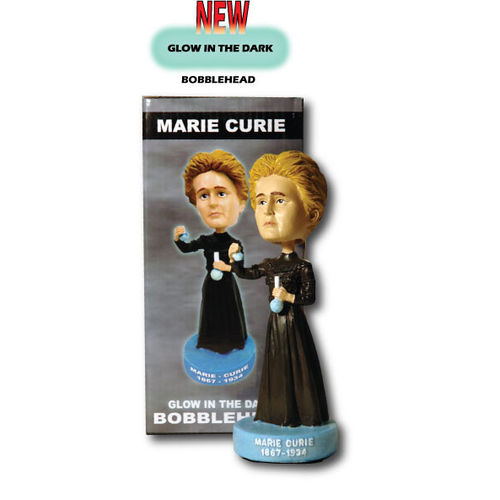 Photo 1 of Marie Curie Bobblehead