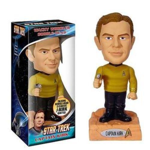 Photo 1 of Captain Kirk - Star Trek Talking Wacky Wobbler Bobblehead