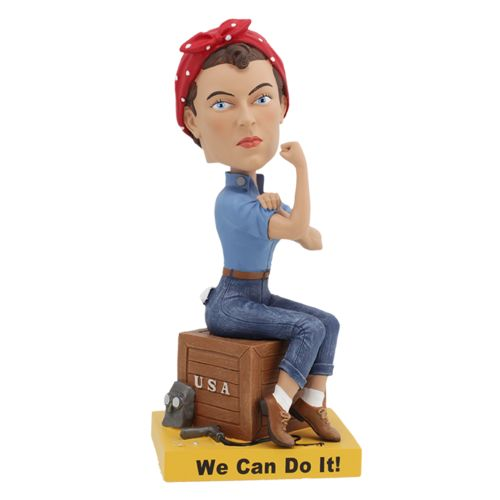 Photo of Rosie the Riveter Bobblehead