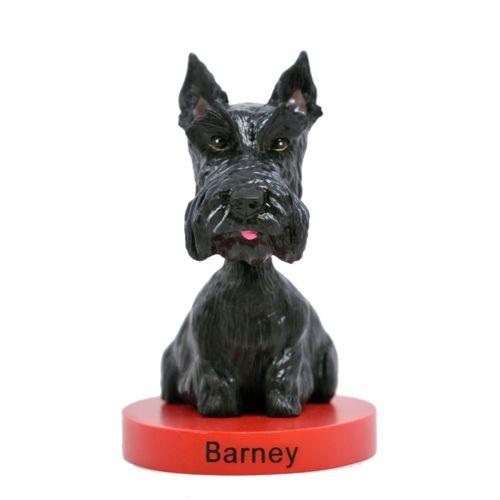 Photo of RETIRED - Barney Bush Scottish Terrier Bobblehead