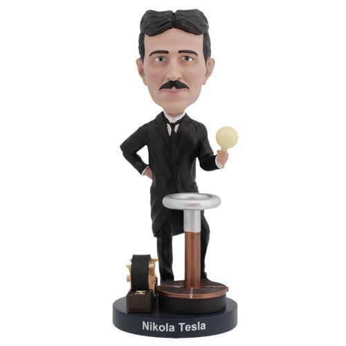 Photo of Nikola Tesla Bobblehead