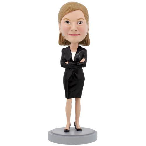 Photo of Female Executive - Premium Figure Bobblehead