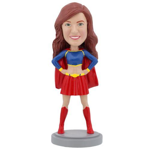 Photo 1 of Female Superhero - Premium Figure Bobblehead