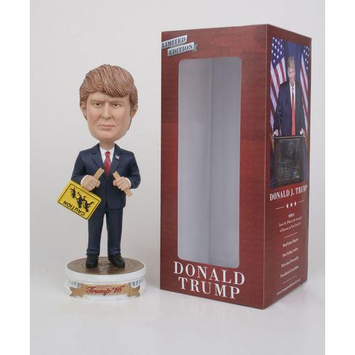 "Photo 1 of Donald Trump ""Broken Sign"" Bobblehead"