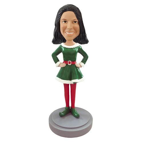 Photo of Elf Female Bobblehead