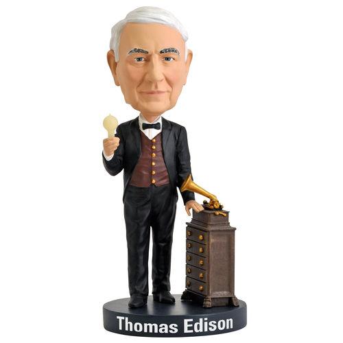 Photo of Thomas Edison Bobblehead
