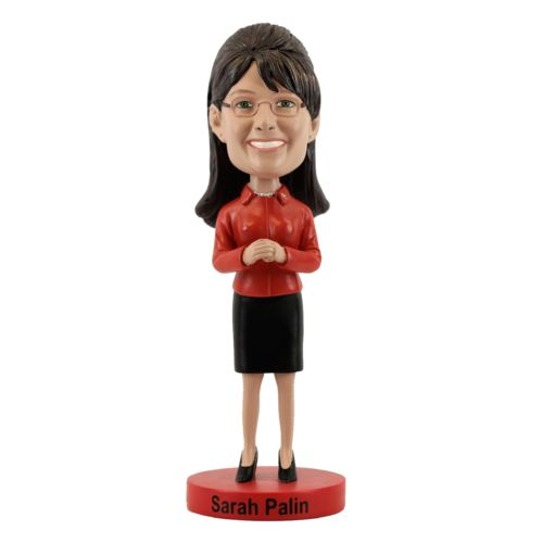Photo of Sarah Palin Bobblehead ** Limited Edition-Red Jacket **