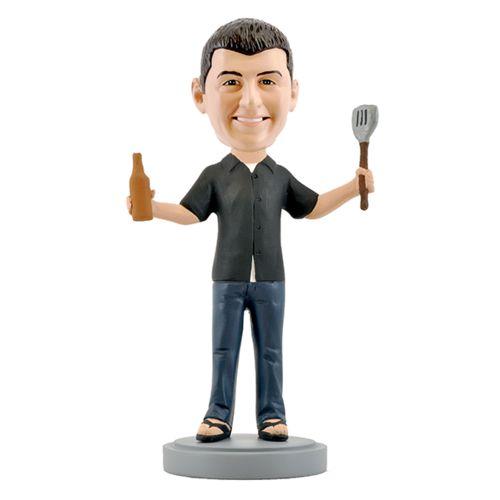 Photo of BBQ Grill Master Bobblehead