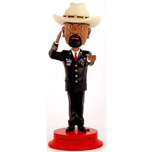 "Photo of Sheriff Clarke 12"" Bobblehead"