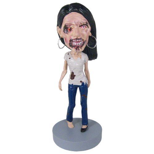 Photo 1 of Female Zombie - Premium Figure Bobblehead
