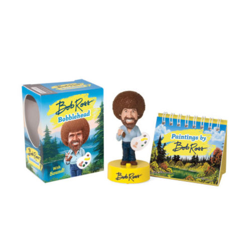 Photo 1 of Miniature Bob Ross Bobblehead with sound