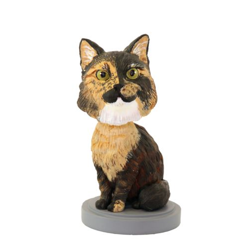 Photo of Long Haired Cat Bobblehead