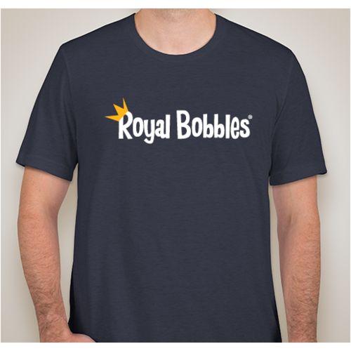 Photo 1 of Royal Bobbles Official Brand LOGO T-Shirt - Unisex Size XLarge