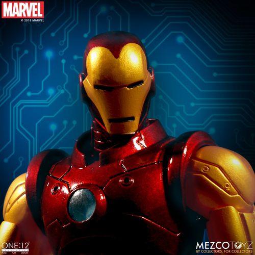 Photo of Mezco Toyz One:12 Collective Marvel Iron Man