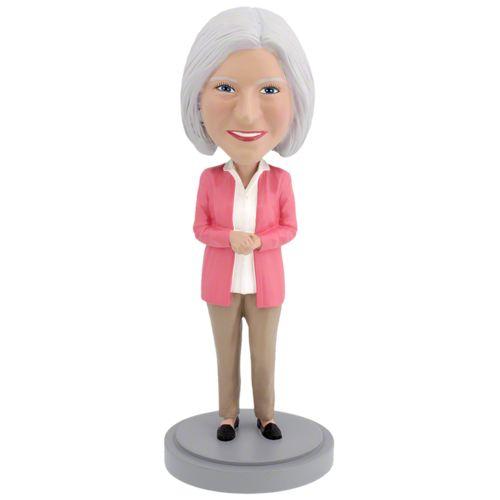 Photo of Senior Female - Premium Figure Bobblehead