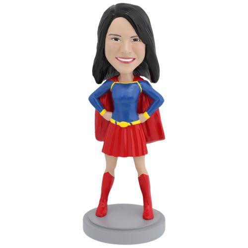 Photo 1 of Female Superhero - Conservative - Premium Figure Bobblehead