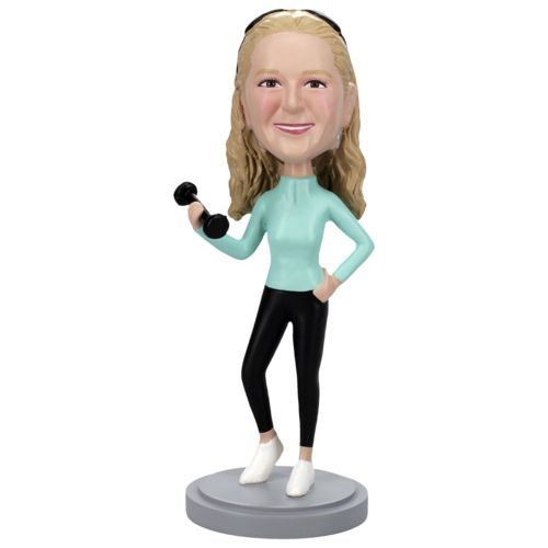 Photo of Athletic Female Bobblehead