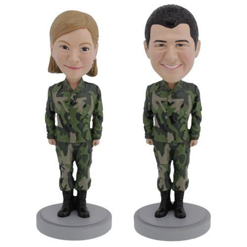 Photo 1 of Unisex US Army - Premium Figure Bobblehead