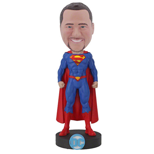 Photo of Superman Bobblehead - Officially Licensed by DC Comics