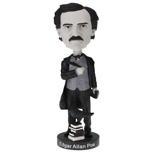 Photo of Edgar Allan Poe Bobblehead - Limited Edition Black & White Version