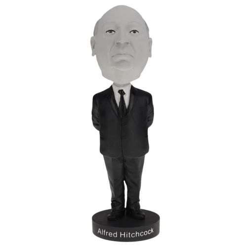 Photo of Alfred Hitchcock Bobblehead - Limited Edition Black & White Version
