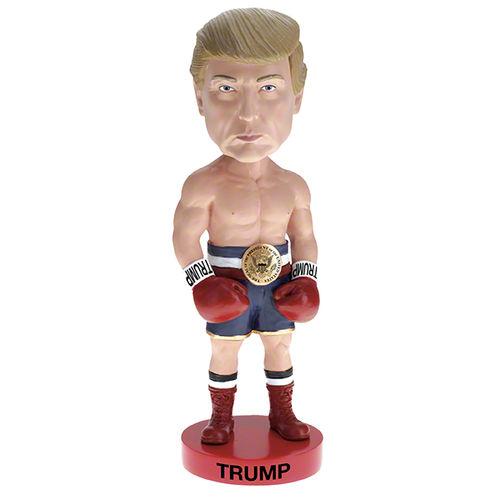 Photo of Trump Boxer Bobblehead