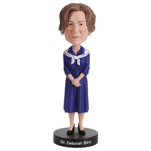 Photo of Dr. Deborah Birx Bobblehead