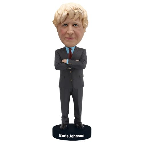 Photo of Boris Johnson Bobblehead