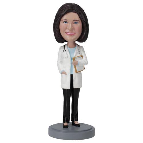 Photo of Female Doctor In Pants - Premium Figure Bobblehead