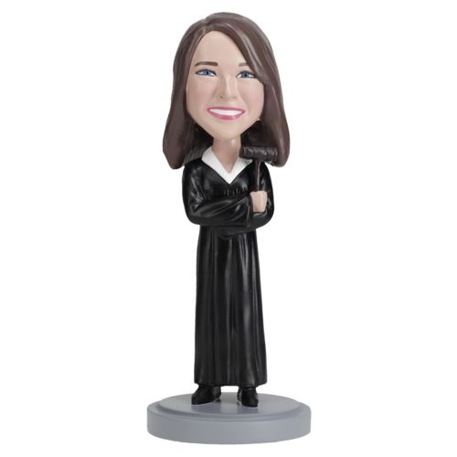 Photo of Female Judge Bobblehead