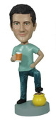 Man With Beer and Pot of Gold Bobblehead - Bobbleheads.com