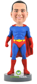 Male Superhero - Premium Figure - Bobbleheads.com