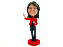 Sarah Palin Casual Bobblehead - Royal Bobbles