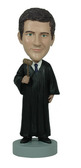 Judge With Gavel Bobblehead - Bobbleheads.com
