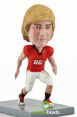 Male Football Player - Premium Figure - Bobbleheads.com