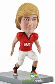 Male Football Player - Premium Figure - Bobbleheads.com