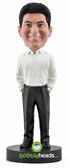 Slender Business Casual Male - Premium Figure - Bobbleheads.com