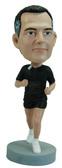 Male Runner Bobblehead - Bobbleheads.com